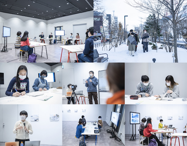 """++A&T 04"" CoSTEP × SCARTS × High school students in Sapporo ""The Scale of Biotechnology: Stories of the Future"" Workshop Exhibition image 2"